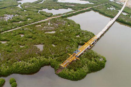 INFRAESTRUCTURA: Viaducto Ciénaga de La Virgen: El más grande de Colombia