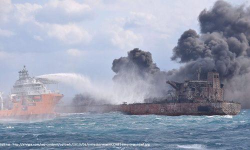TRANSPORTE MARÍTIMO: Un total de 46 grandes siniestros marítimos se registraron en todo el mundo en 2018, 50% menos que el año anterior